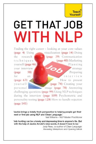 Get That Job with NLP: Teach Yourself Ebook Epub From application ...