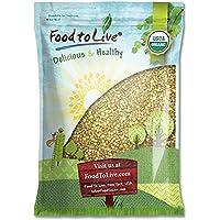 Food to Live Granos de Trigo Sarraceno o Alforfon Bio (Eco, Ecológico, crudo