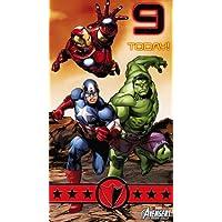 Marvel Avengers Assemble Birthday Card - Age 9