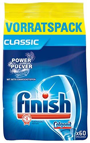 finish Calgonit Power Pulver Classic, für ca. 60 Spülgänge - 1.5 kg