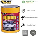Everbuild Aquaseal Liquid Roof | Rubber Roof Membrane | All Weather Roofing System