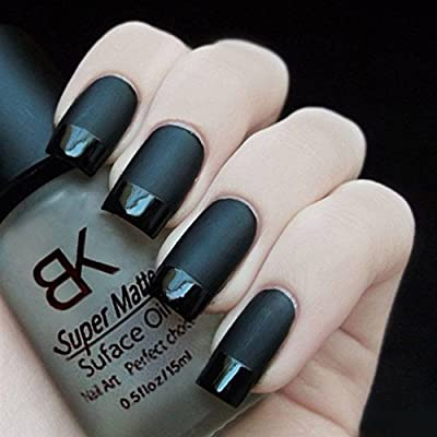 BeautyLife 15ML Magic Super Transfiguration Matte Surface Oil Nail Aet Tools Nail Polish Frosted Top Coat Clear