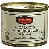 ERIC BUR Escargots de Bourgogne 2 Douzaines Très Gros 200 g - Lot de 2