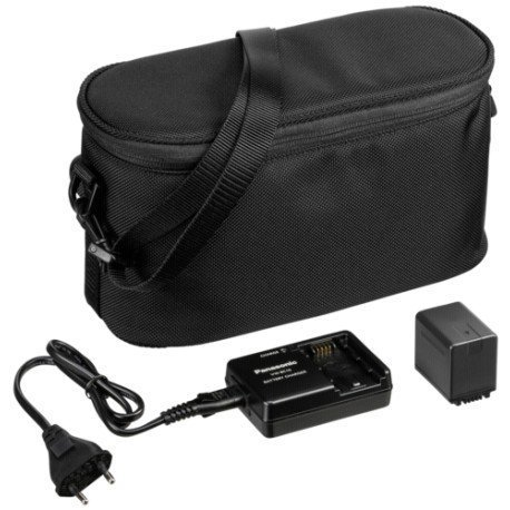 Camcorder Kit Bag (Panasonic VW-ACT380E-K Camcorder Starter-Kit mit Tasche schwarz)