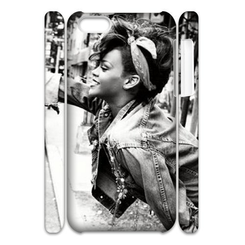 LP-LG Phone Case Of Rihanna For Iphone 4/4s [Pattern-6] Pattern-5