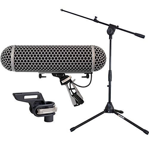 Preisvergleich Produktbild Rode Blimp Windschutz System + Blimp Mount + Mikrofonstativ