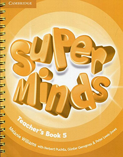 SUPER MINDS LEVEL 5 por Williams, Melanie
