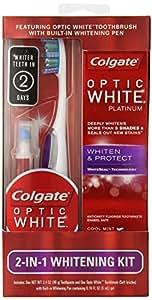 Colgate Optic White 2 In 1 Whitening Kit