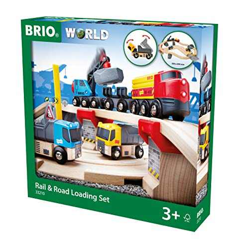 BRIO World  - 33210 - CIRCUIT RAIL ROUTE TRANSPORT DE ROCHES