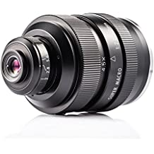 Zhongyi Mitakon 20mm F2.0 Professional Camera Prime Lens Full Frame Super Macro Lens Large Aperture 4X-4.11X Zoom in Superfine Lens suitable for Canon M mount With TARION Bag