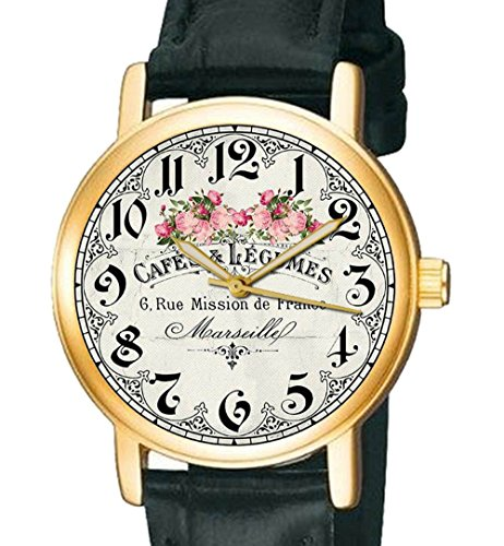 cafe-et-legumes-marseille-art-francais-30-mm-montre-bracelet-de-collection