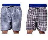 #4: SSB Pure Cotton Multicolor Casual Solid Boxers For Men's Pack of 2