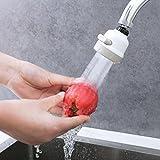 TAOtTAO Universal drehbare Küche 360 Grad Drehbar Wasserhahn Wasserspar-Filter-Sprayer