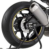 Adhesivos para Llantas Moto Yamaha MT-09 Tracer oro