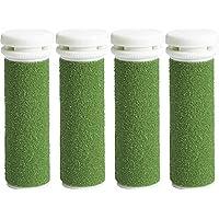 Rulli a grana molto grossa di ricambio verde compatibili con Emjoi Micro Pedi (Pacco da 4 Pezzi)