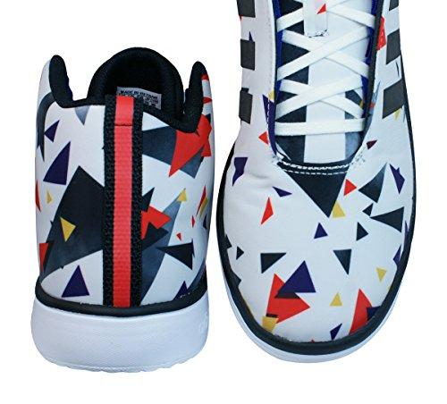schwarz weiß adidas Mid Veritas Sneaker weiß Herren wSSXBxq
