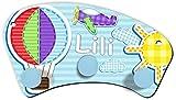 ShirtInStyle Kinder Wandgarderobe mit Wunsch Namen Ballon Sun