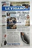 Telecharger Livres FIGARO LE No 20674 du 21 01 2011 PS ROYAL PREND SES RIVAUX DE VITESSE TUNISIE LE NOUVEAU POUVOIR S INSTALLE LA CONTESTATION CONTINUE BRICE HORTEFEUX ANNONCE UNE BAISSE DE PLUS DE 2 POUR 100 DE LA DELINQUANCE DES VACHES NOCTAMBULES PEUVENT GUERIR LES INSOMNIAQUES POLEMIQUE 50 ANS APRES SA MORT CELINE GRAND EMPRUNT LARCHER JAUGE LES CHANCES DE LA MAJORITE SENATORIALES CES FRANCAIS DU NIGER SOUS LA MENACE D AL QAIDA (PDF,EPUB,MOBI) gratuits en Francaise