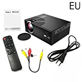 Househome,3D HD 1080P Mini Projector C7 Entertainment Home LED Projector