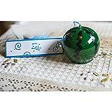 Handgefertigtes Glas Windspiel Wind Glocken für Geburtstag Weihnachten Home Dekore (Wassermelone)