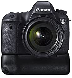 Canon EOS 6D 20.2MP Digital SLR Camera (Black) with 24-70 Lens