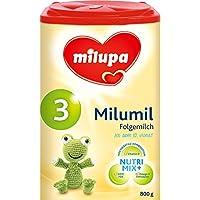 Milumil 3 Folgemilch - ab dem 10. Monat, 3er Pack (3 x 800g)