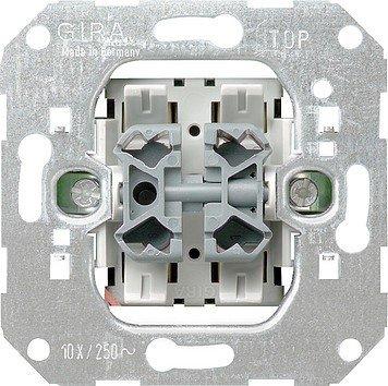 Preisvergleich Produktbild Gira 015500 Wipptaster Wechsel Einsatz
