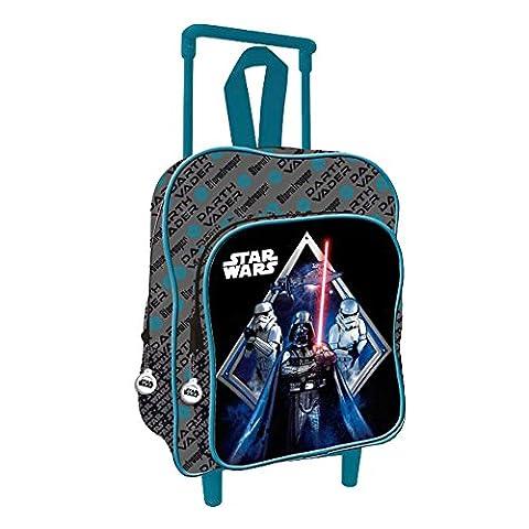 Star Wars AS007 Licence Sac à dos enfant, 35 cm, Multicolor