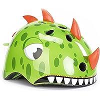 Foxom Casco para Niños, Protector Ajustable Casco Encantador Animal Casco para Ciclismo/Patinaje/