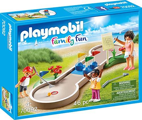 Playmobil 70092 Family Fun Minigolf, bunt -