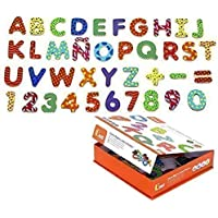 Magnet Letters and Numbers Wood 77 Pieces by Tiktaktoo