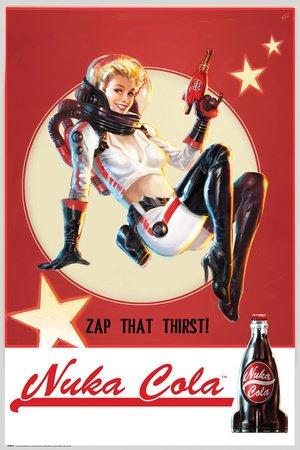 GB eye, Fallout 4, Nuka Cola, Maxi Poster, 61x91.5cm
