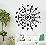 Wallstickers4you Wall Mural Mandala Mantra Chakra Meditation Yoga Om Vinyl Aufkleber (Z2864)