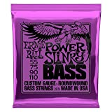 Ernie Ball Power Slinky Nickel Wunde E-Bass Saiten - 55-110 Gauge