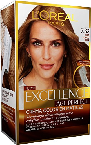 L'Oréal Paris Age Perfect Coloración permanente, Tono: 7.302