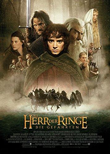 Der-Herr-der-Ringe-Die-Gefhrten-2001-original-Filmplakat-Poster-Din-A1-59-x-84-cm