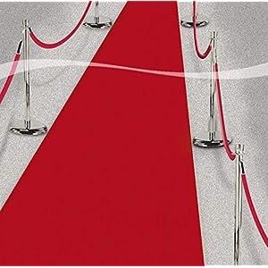 Roter Teppich VIP Deko Empfangsteppich Hochzeit Deko 450×61 cm Red Carpet