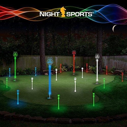 Night Sports USA Light Up Golf Ball mit LED Putting Set by Night Sports USA