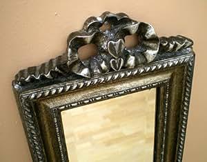 Argento antico cornice full lunghezza specchio da parete for Amazon specchi da parete