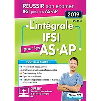 L'intégrale IFSI pour les AS-AP - Examen 2019