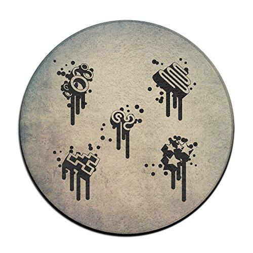 Elements Musik Note Schwarz Symbol Spot Teppichreiniger Maschine für Pet Flecken ()