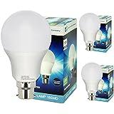 3 Pack 10W GLS LED Light Bulb B22 Bayonet Very Bright 10w = 100w Warm White A60