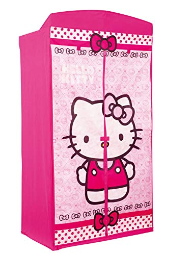 Worlds Apart 295HEK01 Hello Kitty Kleiderschrank aus Stoff