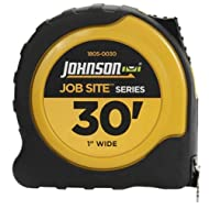 Johnson Level and Tool 1805-0030 30-Foot x 1-Inch JobSite Power Tape by Johnson Level & Tool
