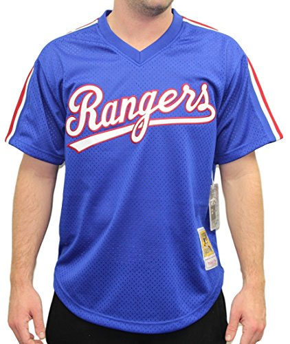 Nolan Ryan Texas Rangers Mitchell & Ness Authentic 1989 BP Jersey (Nolan Ryan Jersey)