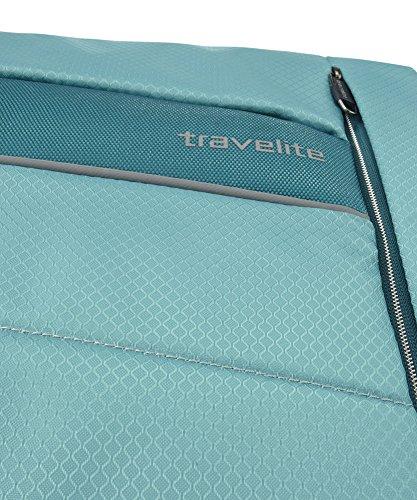 Travelite KITE 4-Rad Trolley L Koffer, 75 cm, 109 L, Silber - 6