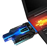 #3: Tarkan USB Powered Portable Laptop Cooler with Adjustable Speed Vacuum Fan [Hot Air Extraction]