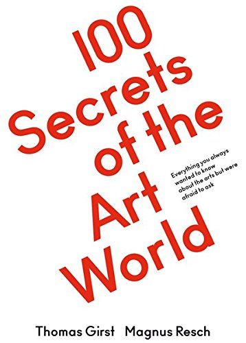 100 Secrets of the Art World par Magnus Resch