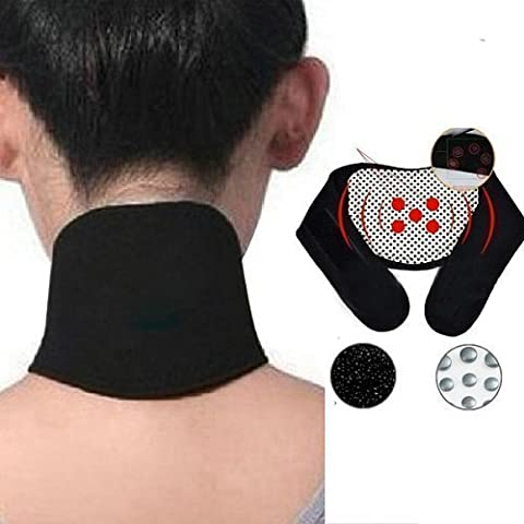 Tourmaline Self Heating Magnetic Therapy Neck Wrap Belt Neck Self Heat Brace Neck Support
