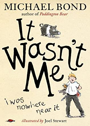 book cover of It Wasn\'t Me!